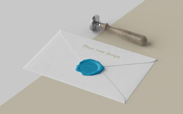 Набор макетов печати для конвертов
