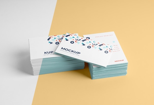 Assortment of pattern visiting card