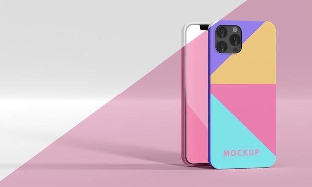 Assortment of phone case mock-up