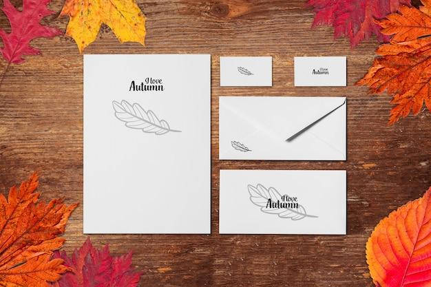 Autumn mock-up