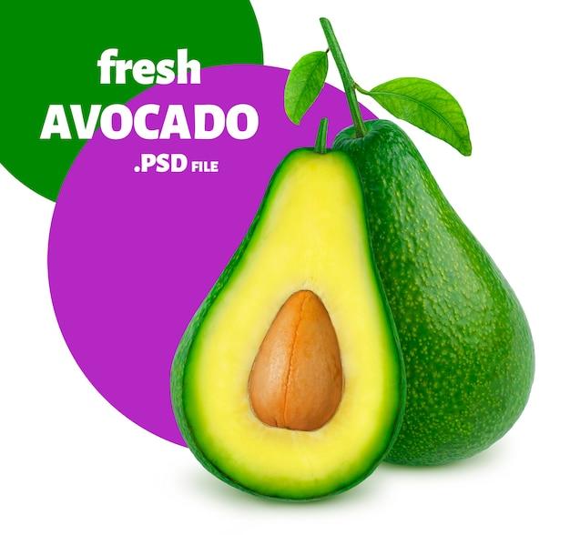 Avocado isolated