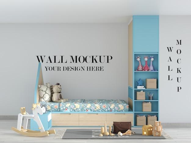 Потрясающий макет стен детской спальни
