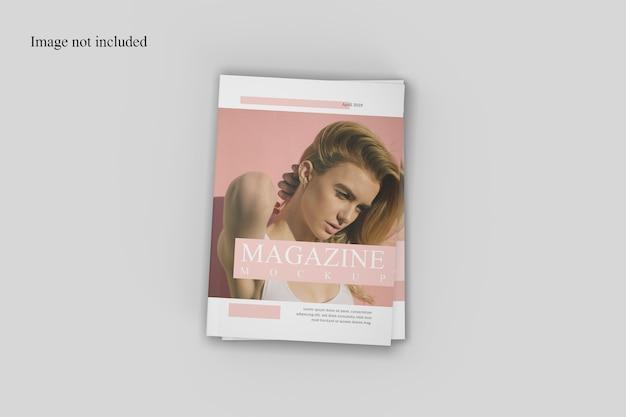 素晴らしい雑誌のモックアップ