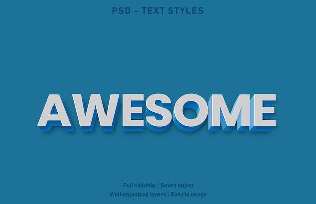 Потрясающий текстовый эффект
