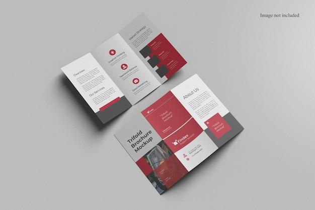 Потрясающий макет брошюры trifold
