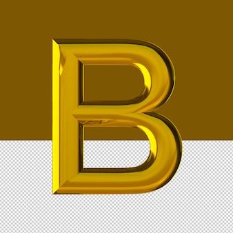 B 문자 텍스트 효과 오일