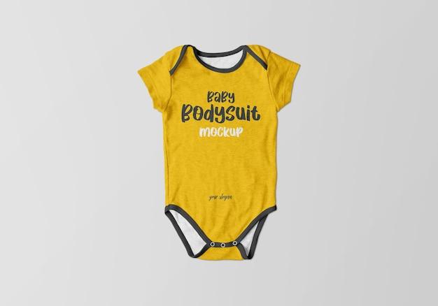 아기 바디 수트 모형 디자인