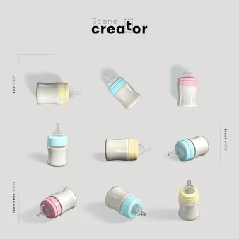 Baby bottle scene creator
