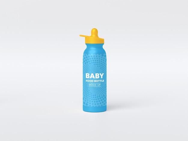 Макет бутылочки для кормления ребенка