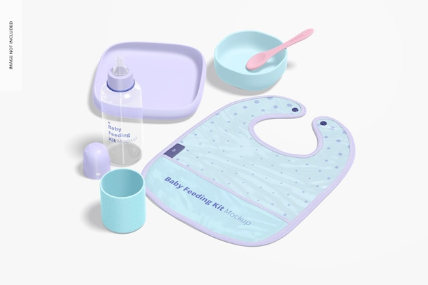아기 수유 키트 모형