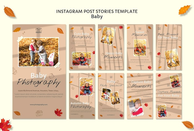 Baby photography instagram posts