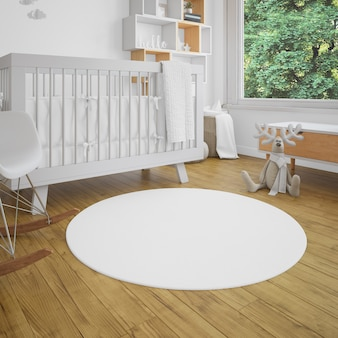 Baby's room with luminosity