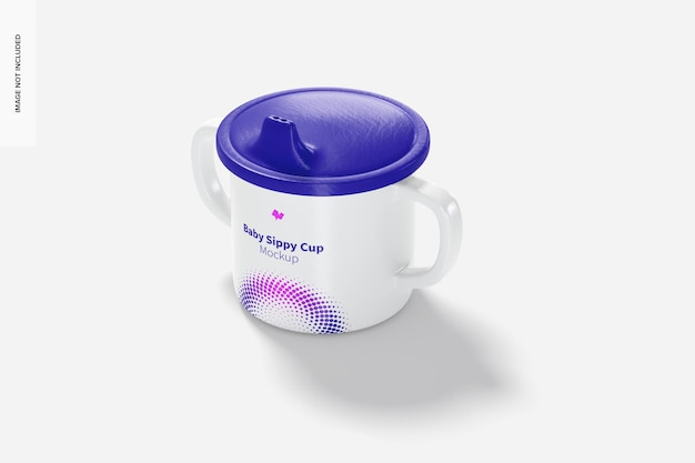 Мокап baby sippy cup
