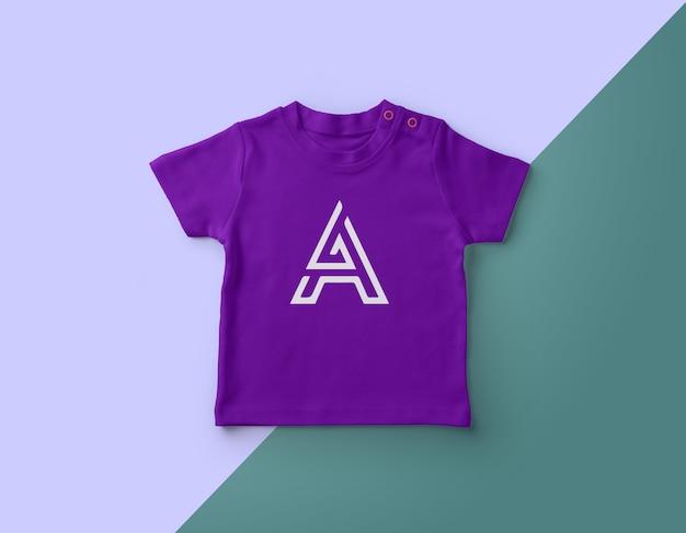 ビジネスのためのベビーtシャツのモックアップデザイン