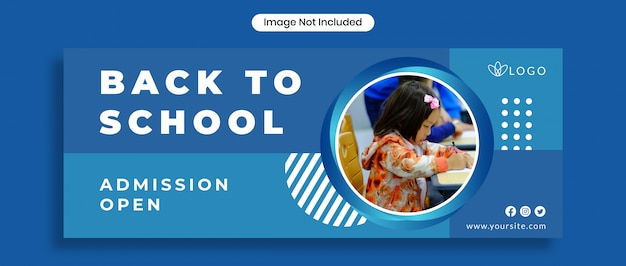 Back to school facebook cover