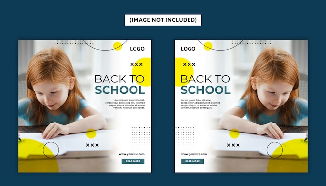 Back To School Social Media Post Template Psd
