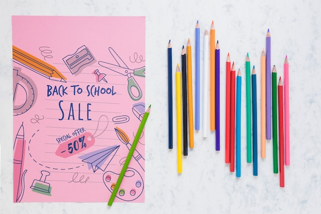 Back to school special offer with 50% discount