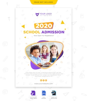 Вернуться к шаблону плаката школьного сезона