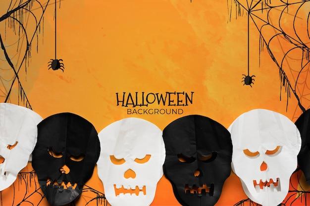 Sfondo con il concetto di halloween
