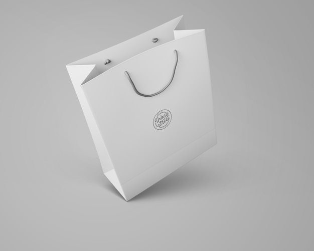 Bag mockup for merchandising
