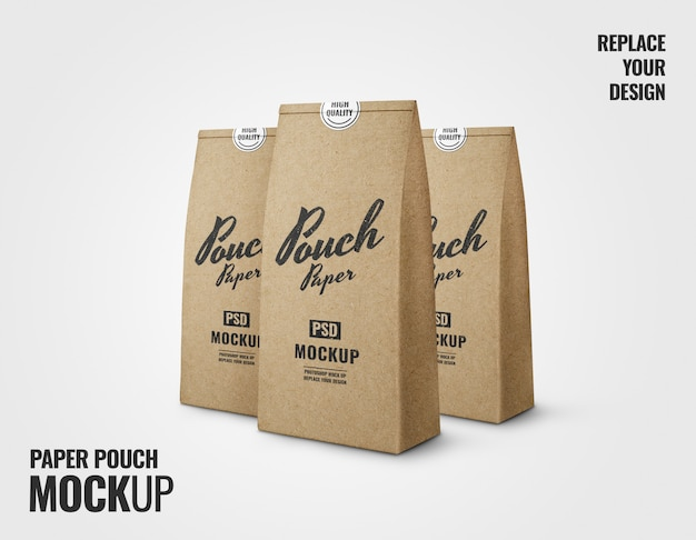 Бумажный пакет для выпечки