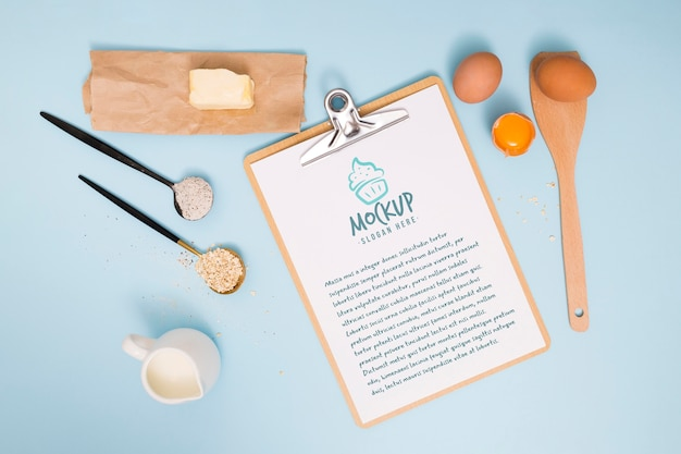 ベーカリーの材料とレシピ