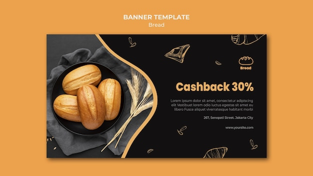 Banner bread store template