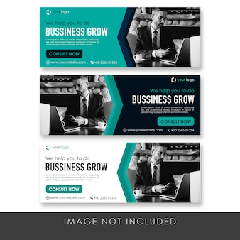 Banner business modern template collection