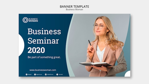Banner concept for corporate template