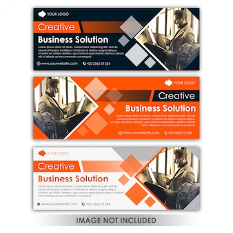 Banner creative business template