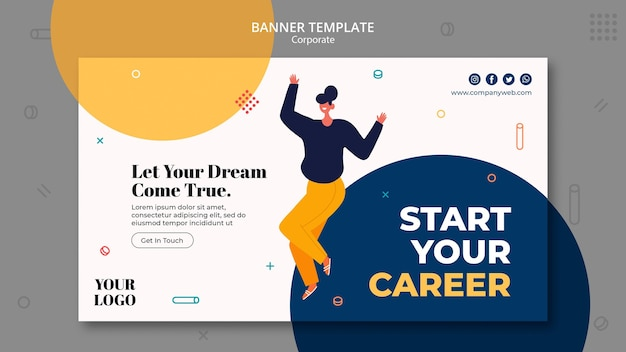 Banner hiring announcement template