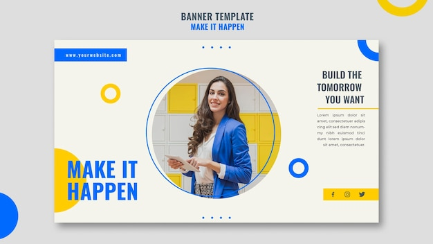 Banner memphis business ad template