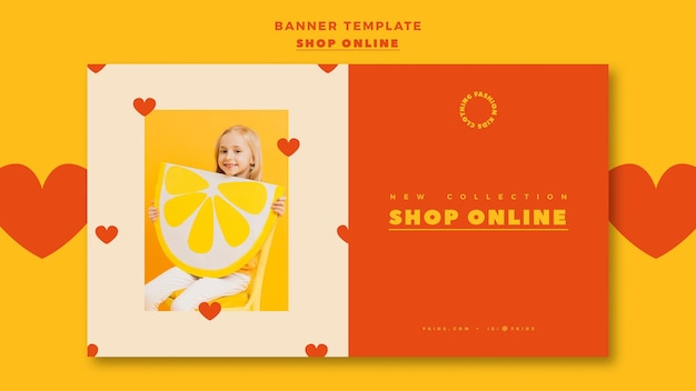 Banner for online shopping