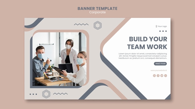 Banner team work template