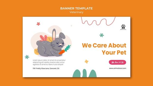 Banner vet clinic template