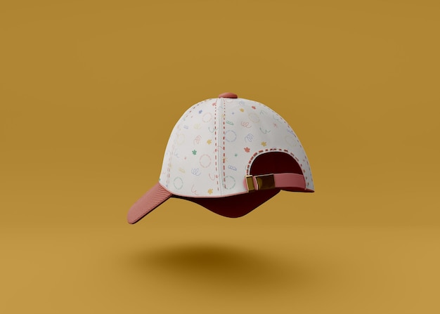 野球帽のモックアップ