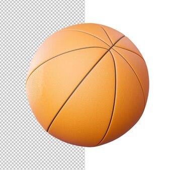 농구 고립 된 그림