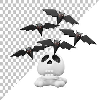 Летучая мышь 3d иллюстрация