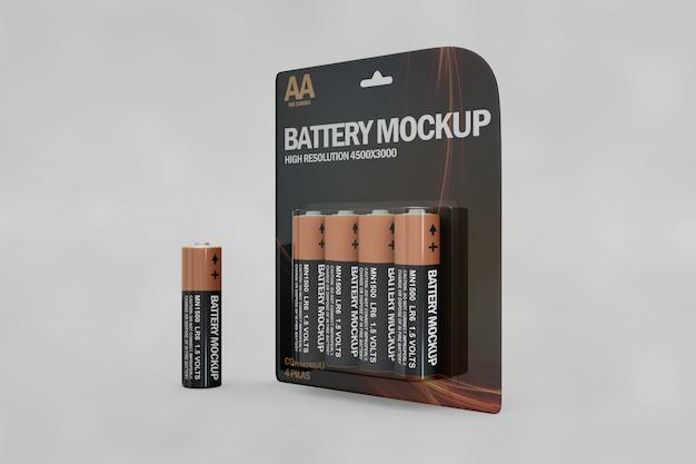 Battery mockup
