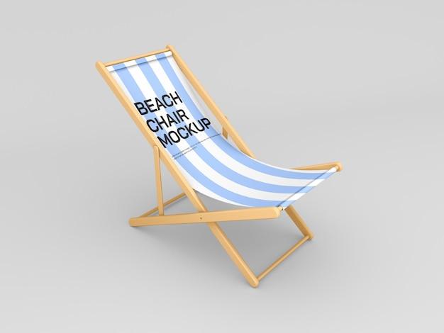 Modello di sedia da spiaggia