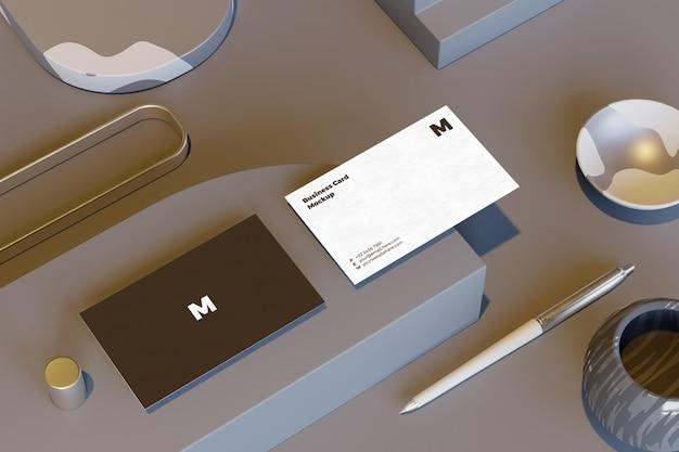 Beautiful business card mockup design