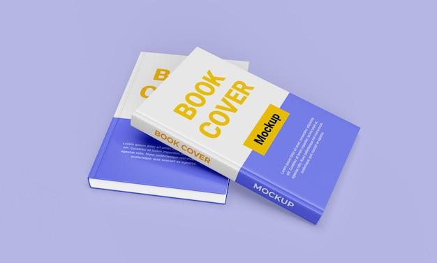 Красивый дизайн макета книги в твердом переплете