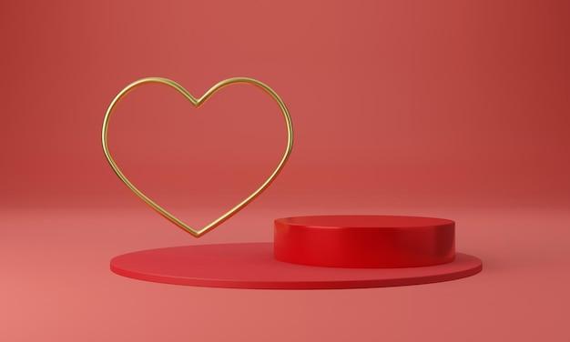 최소한의 디자인 컨셉으로 아름다운 심장 받침대
