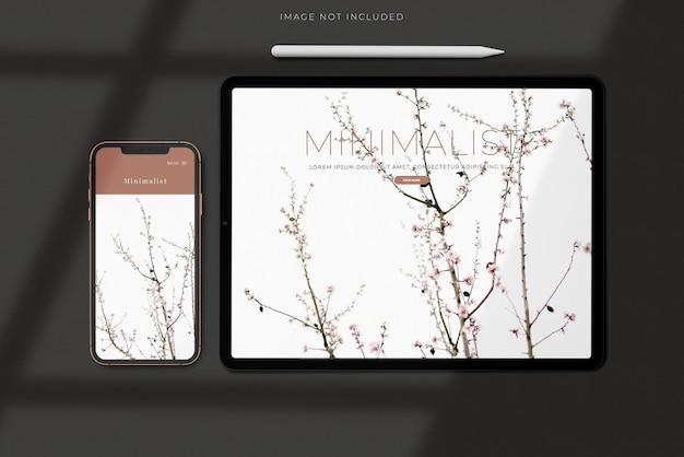 Beautiful phone for branding identity global business
