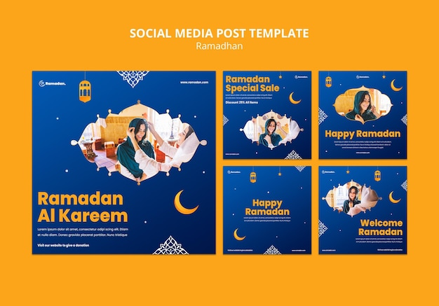 Beautiful ramadan social media posts
