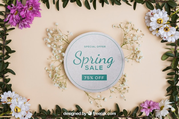 아름다운 봄 모형