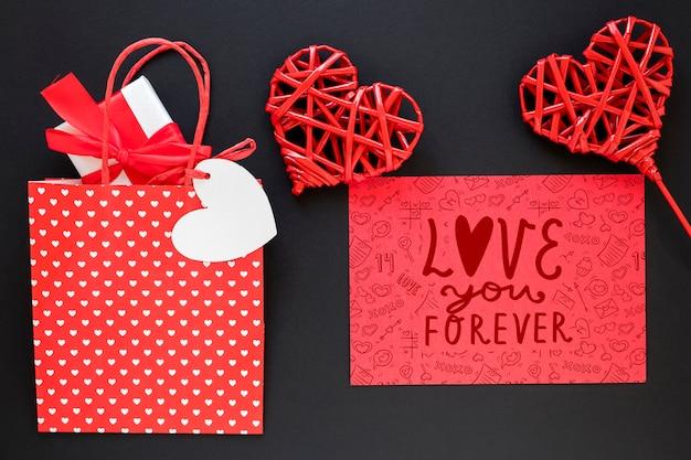 Bellissimo il concetto di san valentino