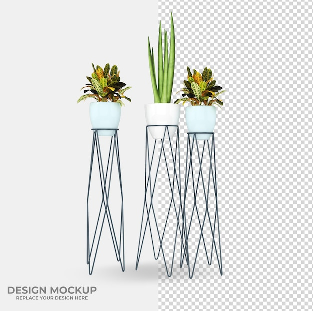 Beautiful various plant decoration designs