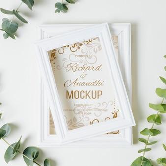 Красивый свадебный концепт-макет