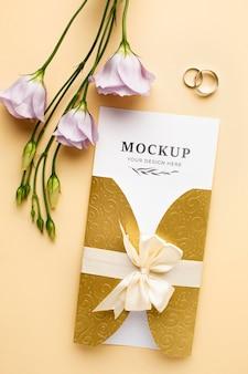 아름다운 결혼식 개념 모형